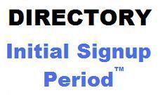 Initial Signup Period1